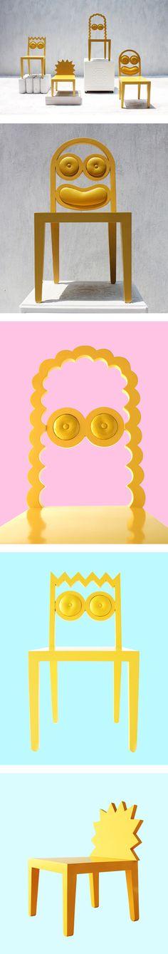 Cadeiras dos Simpsons