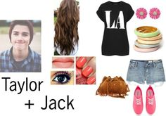 """""""Taylor+Jack"""" by just4u1d ❤ liked on Polyvore"""