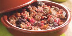 Boodschappen - Tajine van rundvlees, pruimen en aubergines Home Recipes, Cooking Recipes, Healthy Recipes, Tajin Recipes, Tasty, Yummy Food, Middle Eastern Recipes, Couscous, Chinese Food