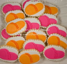 Sweet Handmade Cookies - sleepover cookies, slipper cookies.