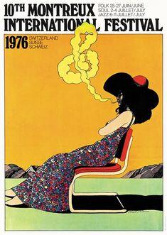 10th Montreux International Festival, 1976