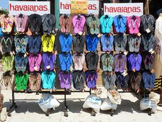 Havaianas; California Flip Flops; Venice Beach; Reproduction prints, posters, and fine art.