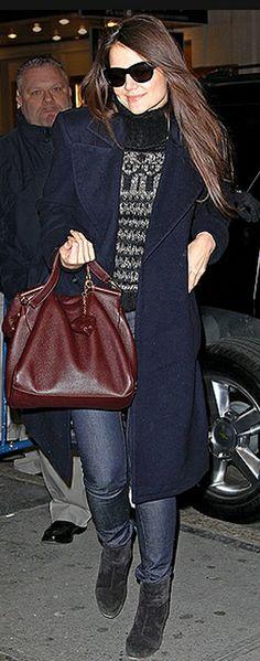 Sweater – Isabel Marant  Shoes – Rag & Bone  Purse – Dolce & Gabbana