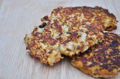 dietas-karfiol-pogacsa Banana Bread, Mac, Chicken, Cooking, Kitchen, Desserts, Recipes, Food, Diet