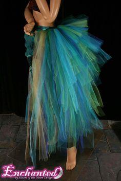Massive Mermaid burlesque tie on bustle by SistersEnchanted