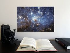 Star-Forming Region LH 95 x Poster - Science Astronomy Wall Art Print- Window on the Univers Science Gifts, Science Art, Typography Prints, Typography Poster, Orion's Belt, Pale Blue Dot, Carl Sagan, Quote Posters, Wall Art Prints