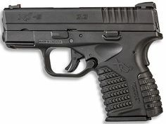 Springfield XDs in 9mm, same exact dimensions as the .45 ACP version. Sweet carry gun! Find our speedloader now!  http://www.amazon.com/shops/raeind