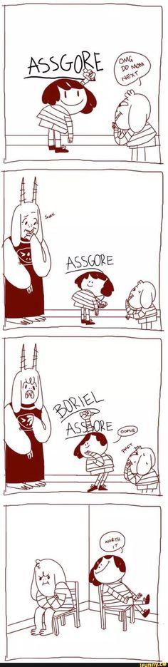 Undertale, Chara, Asriel