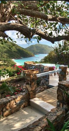 Guana Island Resort - now that's a slice of paradise! Places Around The World, Oh The Places You'll Go, Places To Travel, Places To Visit, Around The Worlds, Dream Vacations, Vacation Spots, Caribbean Vacations, Italy Vacation