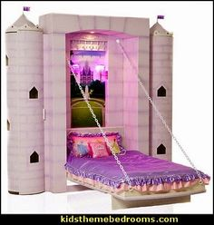 Unique Beds | ... theme beds at ababy an enchanted bed for your princess with a unique
