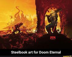 Video Game DOOM Eternal Doom Doom (2016) (720x1280) Mobile