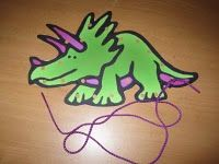 lots of dino printables and activities