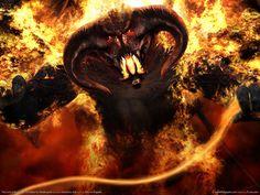 Balrog, demonio del fuego