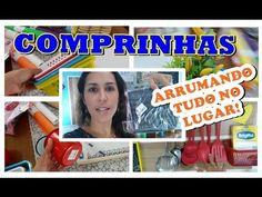 COMPRINHAS PARA O LAR #3 - Arrumando tudo no Lugar!!!