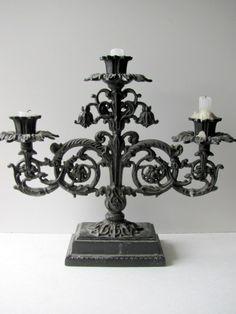 French gothic candelabra