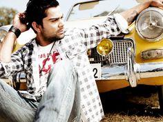 Virat Kohli in Flying Machine photo shoot | Veethi