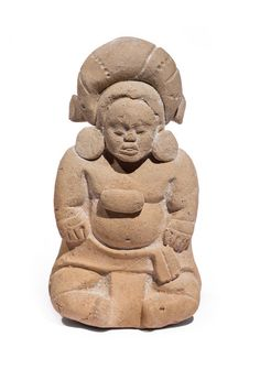 Figurine Whistle of a Seated Dwarf, Unknown, Northern Guatemala or Southeastern Mexico, AD Sculpture, Ceramic. Mesoamerican, Sculpture Clay, Dwarf, Mexico, Teddy Bear, Collections, Statue, Tattoo Flash, Ceramics