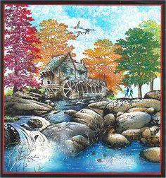 Autumn Brook by Sulea's Art Box, via Flickr