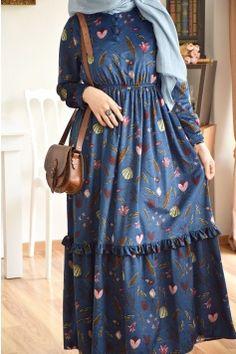 Ürün Görseli Arab Fashion, Muslim Fashion, Cute Fashion, Modest Fashion, Girl Fashion, Fashion Outfits, Tea Length Bridesmaid Dresses, Modele Hijab, Islamic Clothing