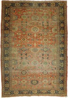 Distressed Antique Sultanabad Persian Rug - x Deep Carpet Cleaning, Eclectic Rugs, Interior Rugs, Fluffy Rug, Classic Rugs, Traditional Rugs, Home Rugs, Persian Rug, Persian Carpet