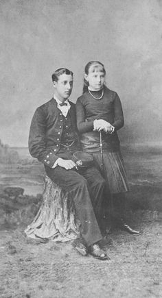 N Pantzopoulos - Prince Albert Victor of Wales and Princess Alexandra of Greece
