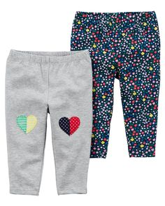 Baby & Toddler Clothing Baby Clothes Girl 18-24m Aqua/white Hearts Early Days Pyjama Trousers/bottoms