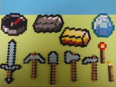 Minecraft Perler beads by PerlerPalace on deviantART