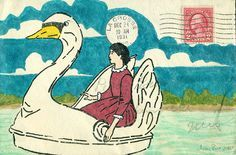 swan mail by amy rice