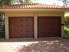 Garage Door Tutorial   Everything I Create - Paint Garage Doors To Look Like Wood