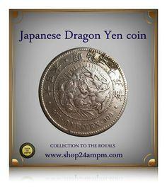 Japanese Yen Old Sliver Coin