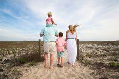 family of four photo shoot | orange beach, alabama | beach photographer