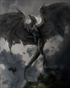 Temeraire #dragon #black #NaomiNovik