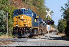RailPictures.Net Photo: CSXT 3145 CSX Transportation (CSXT) GE ES44AC at Joppatowne, Maryland by Andrew Ordun