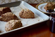 This gingerbread scones recipe is a must if you're planning a holiday brunch. By Jennifer Perillo Fudge Brownies, Cooking On A Budget, Fun Cooking, Frosting Recipes, Cookie Recipes, Scone Recipes, Aussie Food, Savory Scones, Holiday Recipes