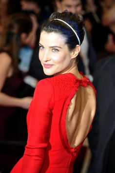 Cobie Smulders This looks like a tint.