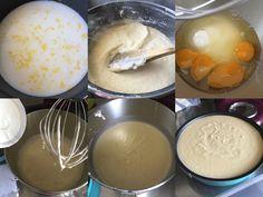 Migliaccio - La Recette du Gâteau de Semoule à la ricotta Flan, Food And Drink, Ice Cream, Cookies, Hui, Comme, Cheesecake, Cakes, Food Cakes