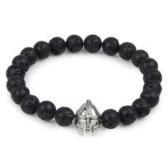 Natural Stone Beads Elastic Charm Bracelets