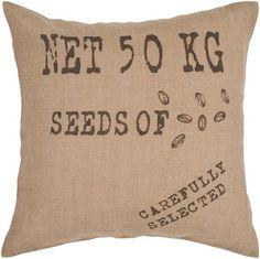 Surya L 18 X W 18 Down Fill Square Cotton Pillow Kit SI-2002