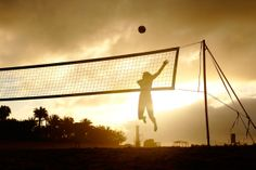 Beach volleyball is my life