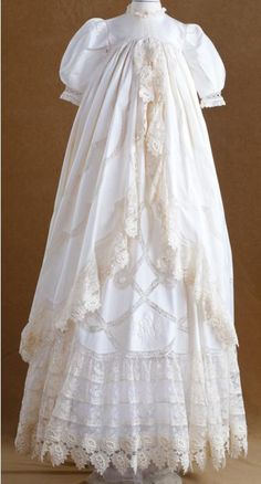 Sew Beautiful Blog: Turn a Wedding Dress into a Christening Gown