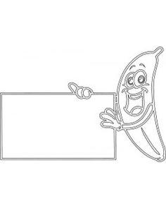 "Фото рамка ""Банан"""