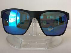 364e0e5496298 New OAKLEY TWOFACE XL SAPPHIRE POLARIZED Sunglasses OO9350-05 MATTE BLACK   fashion  clothing
