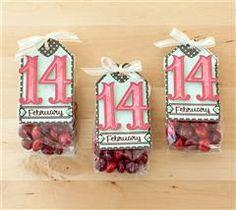 cute valentine treat bags