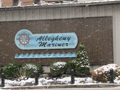 A town near the river must have at least one great seafood restaurant, and boy do we ever.  The Allegheny Mariner is located near the Marina.  We love to go here for dinner.  The dining room has a large window wall that looks out on the Allegheny River. It makes for a romantic date night!