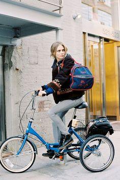Cara Delevingne or Bill Cunningham? #streetrepellers #manrepeller