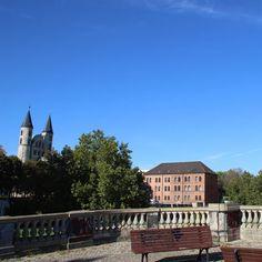 """""""Auf der alten Festung mit Kloster im Hintergrund #Magdeburg #altstadt"""""""