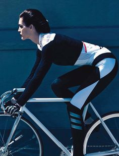 Hilary Rhoda by Camilla Akrans for Vogue Germany August 2014