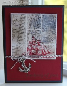 Stamp With Amy K | Amy Koenders, Independent Stampin' Up! Demonstrator in Portland, Oregon…Let's make some cards! Faux tile tutorial