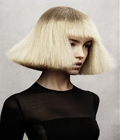 A medium blonde straight coloured multi-tonal frizzy hairstyle by Angelo Seminara Angelo Seminara, Medium Blonde, Optical Illusions, The Magicians, Straight Hairstyles, Pure Products, Female, Hair Styles, Photography