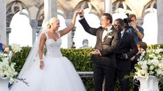 """Details on """"The Miz"""" and (&) Maryse Ouellet's wedding in the Bahamas (courtesy/ctsy of World Wrestling Entertainment/W.W.E.)"""